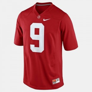For Kids Alabama Crimson Tide Football #9 Amari Cooper college Jersey - Red