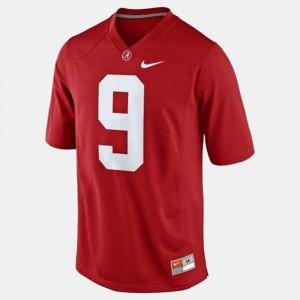Men Alabama #9 Football Amari Cooper college Jersey - Red