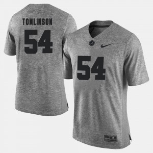 Men Gridiron Gray Limited #54 Bama Gridiron Limited Dalvin Tomlinson college Jersey - Gray