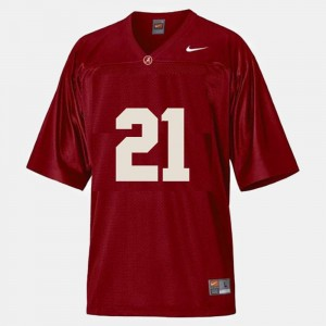 Kids Football Roll Tide #21 Dre Kirkpatrick college Jersey - Red