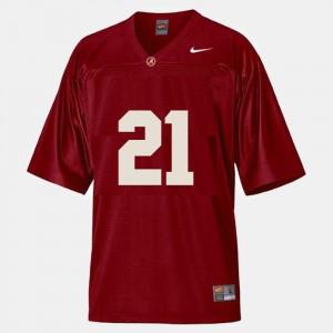 Men Football #21 Alabama Roll Tide Dre Kirkpatrick college Jersey - Red