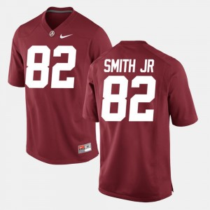Men #82 Alabama Roll Tide Alumni Football Game Irv Smith Jr. college Jersey - Crimson