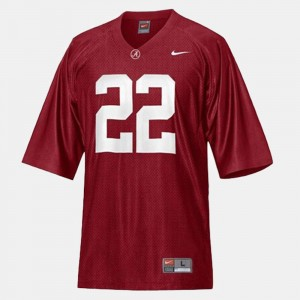 Mens Football #22 Alabama Roll Tide Mark Ingram college Jersey - Red