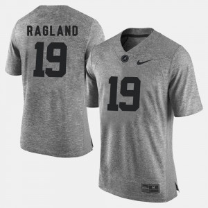 Men's Gridiron Limited #19 Bama Gridiron Gray Limited Reggie Ragland college Jersey - Gray