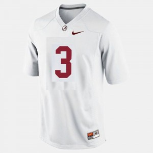 Kids Football #3 Alabama Roll Tide Trent Richardson college Jersey - White