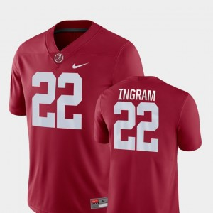 Men Football Game Alabama Crimson Tide #22 Mark Ingram college Jersey - Crimson